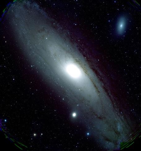 M31 fotograferet af NAOJ 8m teleskopet