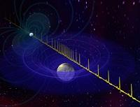 Måling af Pulsar-pulser med radioteleskoper