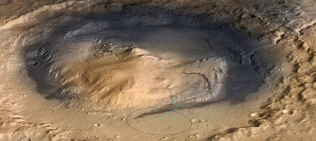 Mount Sharp bjerget