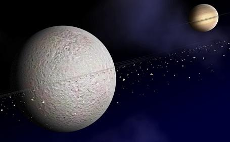 Saturnånen Rhea